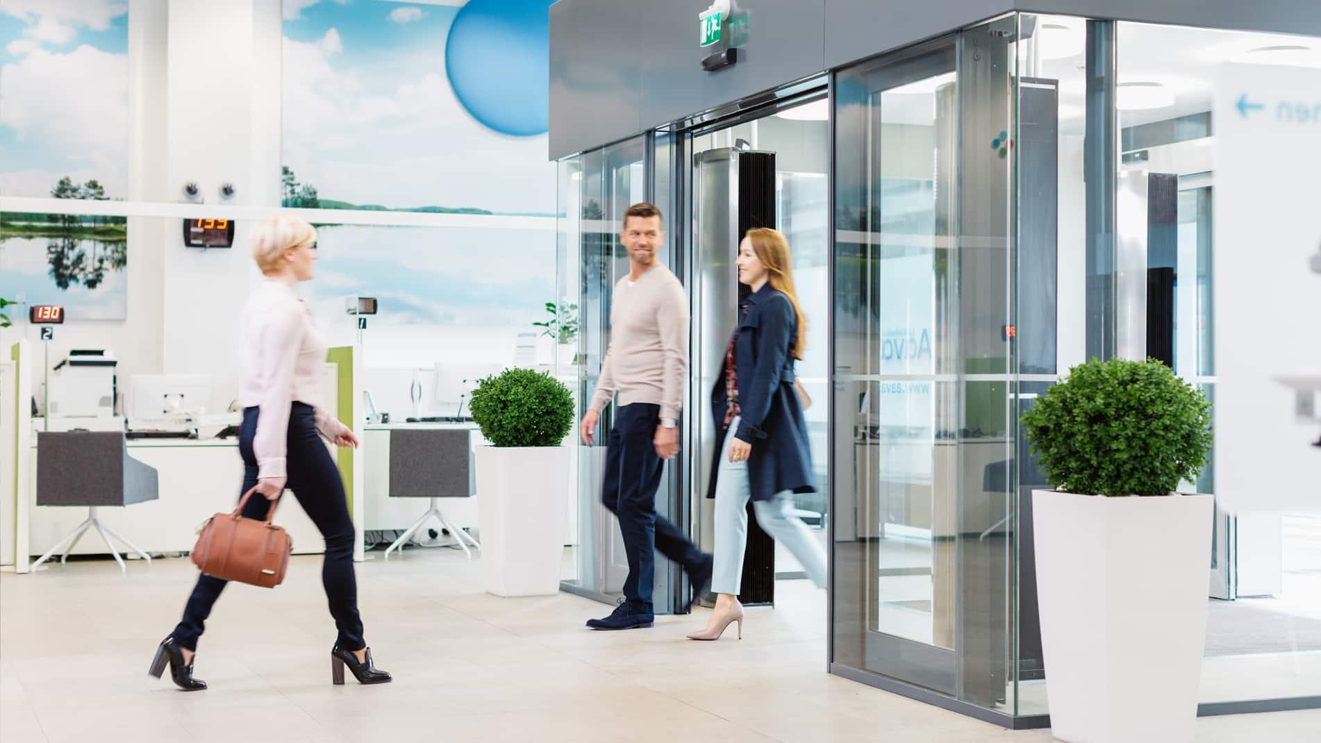 Automatische Glazen Schuifdeur Prijs.Kone Automatische Schuifdeuren